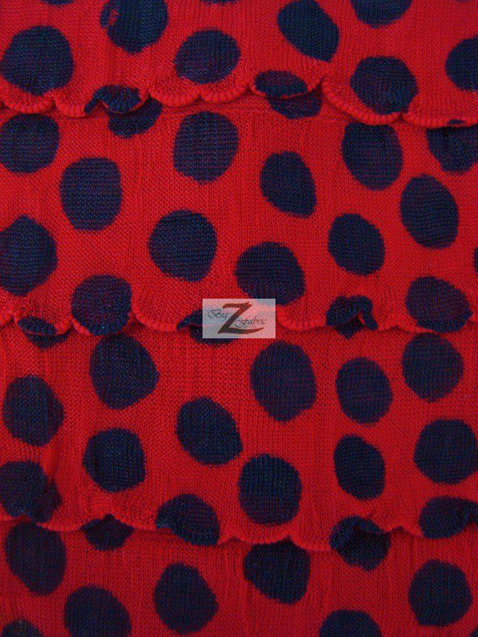Dalmatian ruffle poly spandex fabric stretch spandex fabrics for Spandex fabric