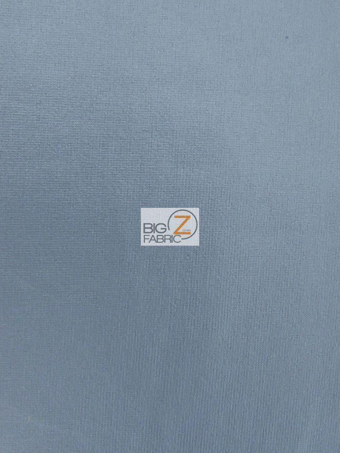 Charcoal Matte Foil Spandex Fabric