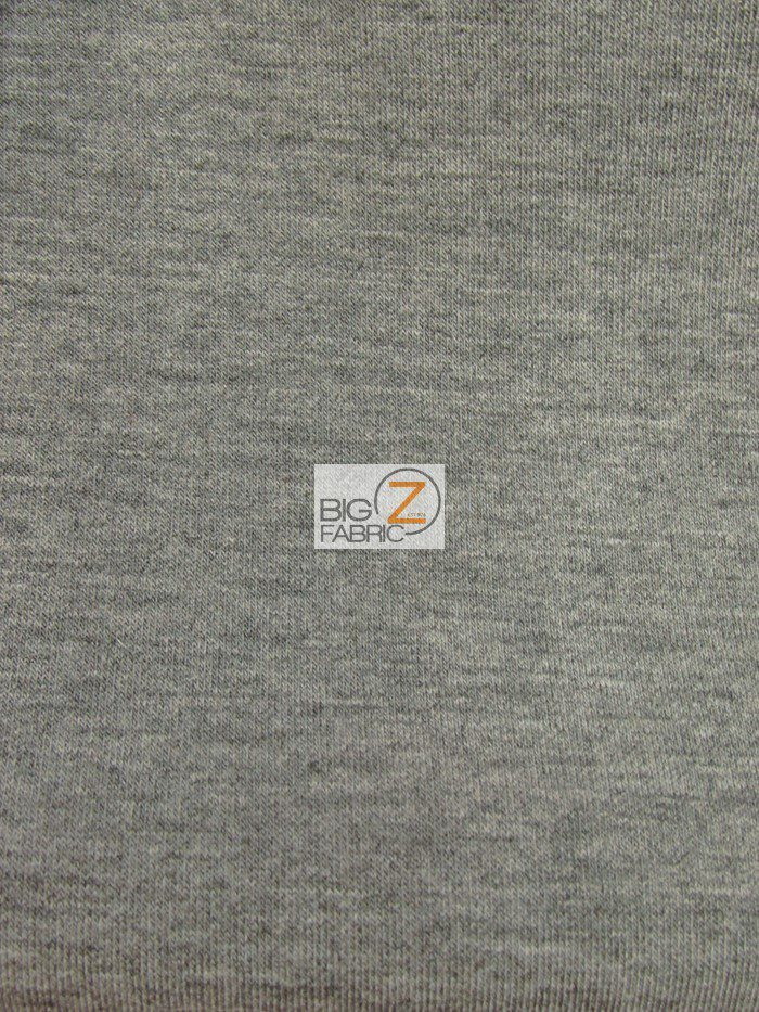 Heather Black Techno Athletic Double Knit All-Purpose Fabric