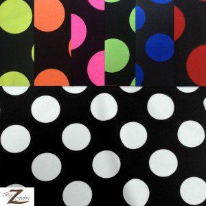 Big Polka Dot Nylon Spandex Fabric