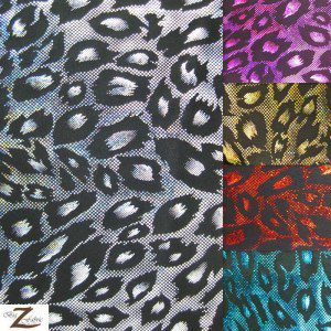 Cheetah Nylon Spandex Fabric