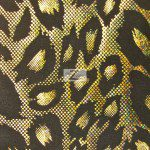 Cheetah Nylon Spandex Fabric Gold