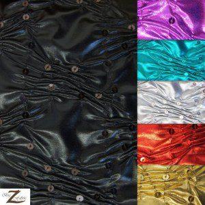 Crunchy Foil Sequin Poly Spandex Fabric