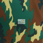 Army Camouflage Spandex Costume Fabric