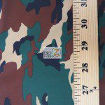 Army Camouflage Spandex Costume Fabric Measurement
