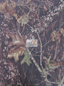 Mossy Oak Breakup Woodland Camouflage Spandex Fabric