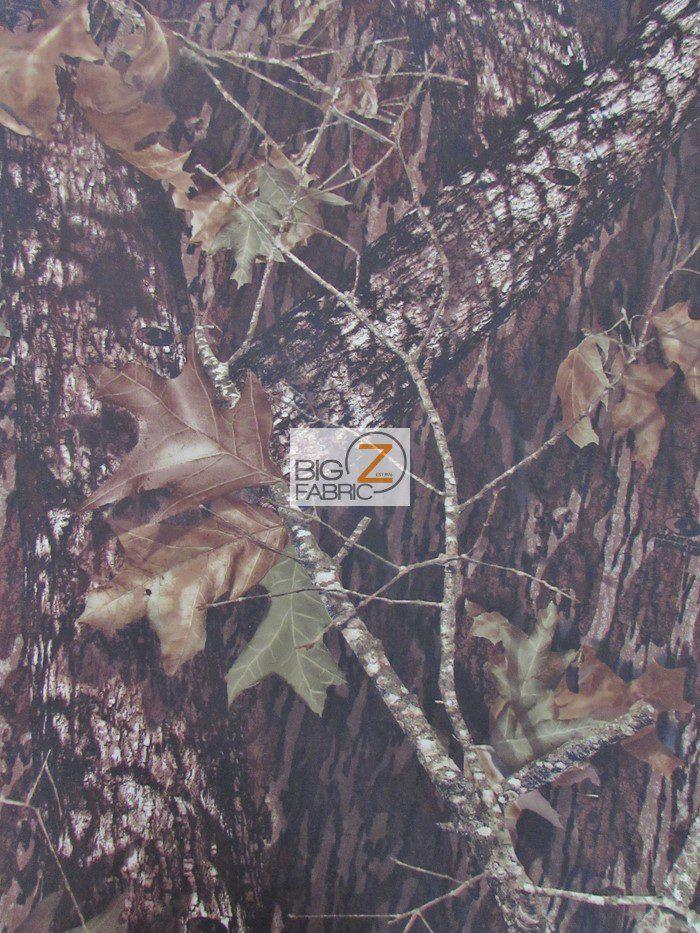 Mossy Oak Breakup Woodland Camouflage Spandex Fabric