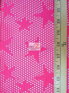 Star Fishnet Costume Spandex Fabric Measurement