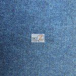 Denim Spandex Apparel Fabric Blue