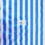 American Holomist Stripes Spandex Fabric Blue