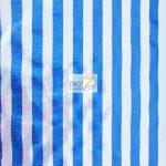 American Holomist Stripes Spandex Fabric Blue