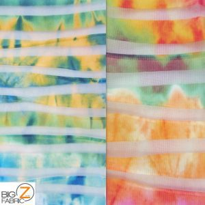 Tropical Fusion Spandex Fabric