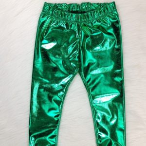 Unisex Metallic Spandex Training Pants