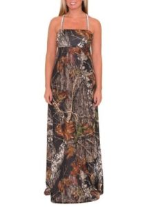 Mossy Oak Spandex Summer Dress
