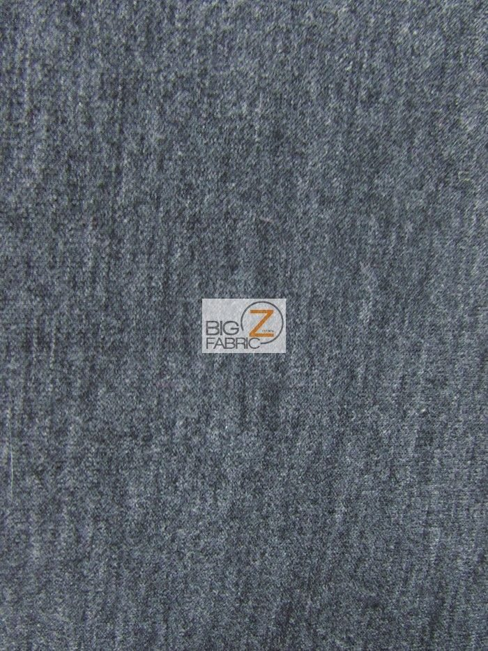 Charcoal Techno Athletic Double Knit All-Purpose Fabric