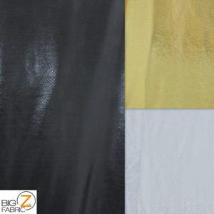 Solid Glimmer Foil Spandex Fabric