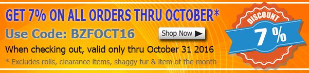 October 2016 Spandex Fabric Discount