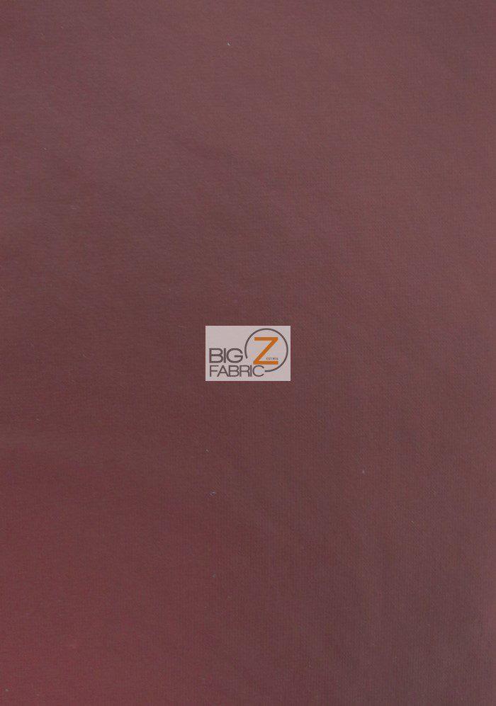 Burgundy Matte Foil Spandex Fabric