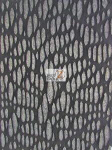 Mummy Costume Spandex Fabric Black