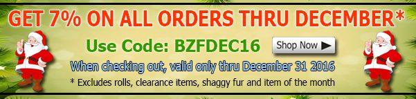 Big Z Fabric December Spandex Fabric Discount Coupon