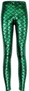 Scale Spandex Mermaid Leggings