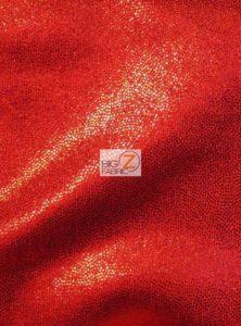 Red Mist Nylon Matrix Foil Spandex Fabric