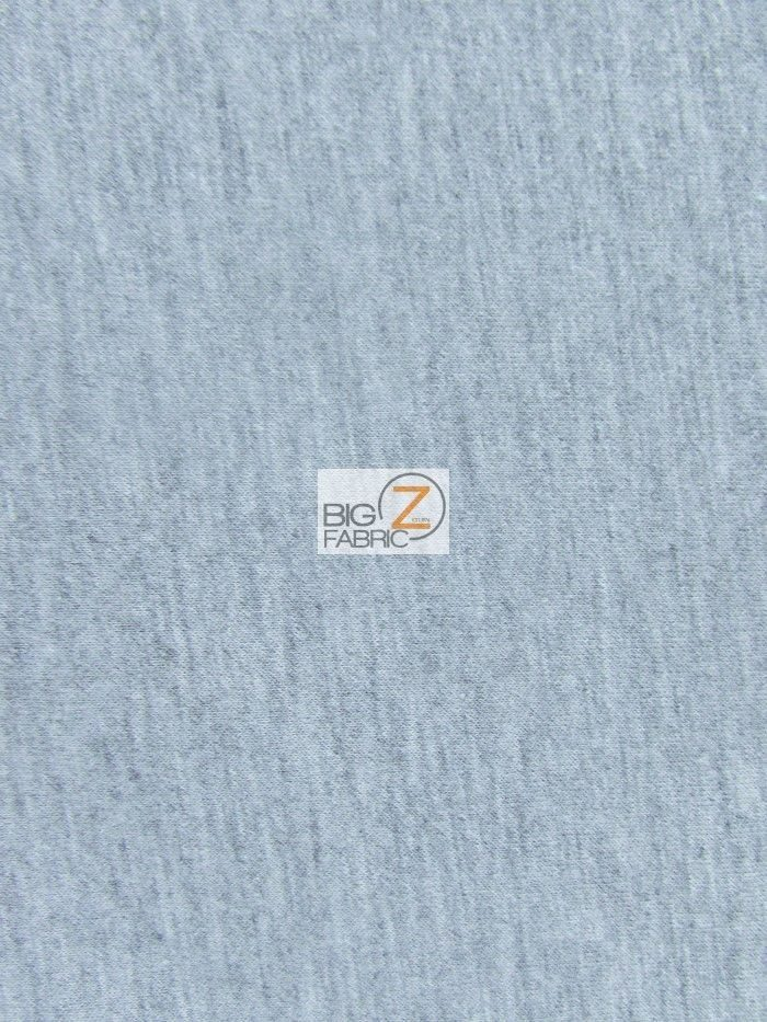 Heather Gray Techno Athletic Double Knit All-Purpose Fabric