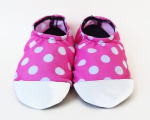 Polka Dot Spandex Toddler Shoes