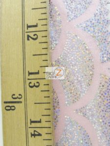 2 Tone Holographic Scale Spandex Fabric Measurement