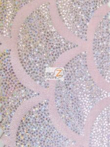 2 Tone Holographic Scale Spandex Fabric
