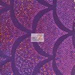 2 Tone Holographic Scale Spandex Fabric Purple