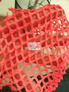 Stretch Netting Poly Spandex Fabric Close Up