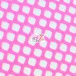Stretch Netting Poly Spandex Fabric Hot Pink