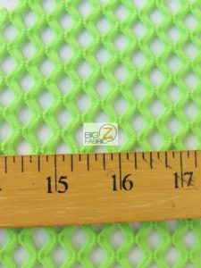 Stretch Netting Poly Spandex Fabric Measurement