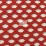 Stretch Netting Poly Spandex Fabric Red