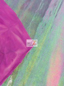 Rainbow Mist Holographic Spandex Fabric