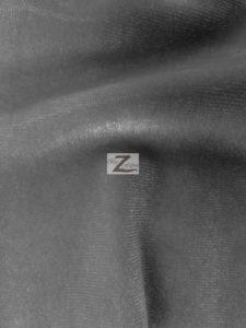 Charcoal Stretch Velvet Velour Spandex Fabric