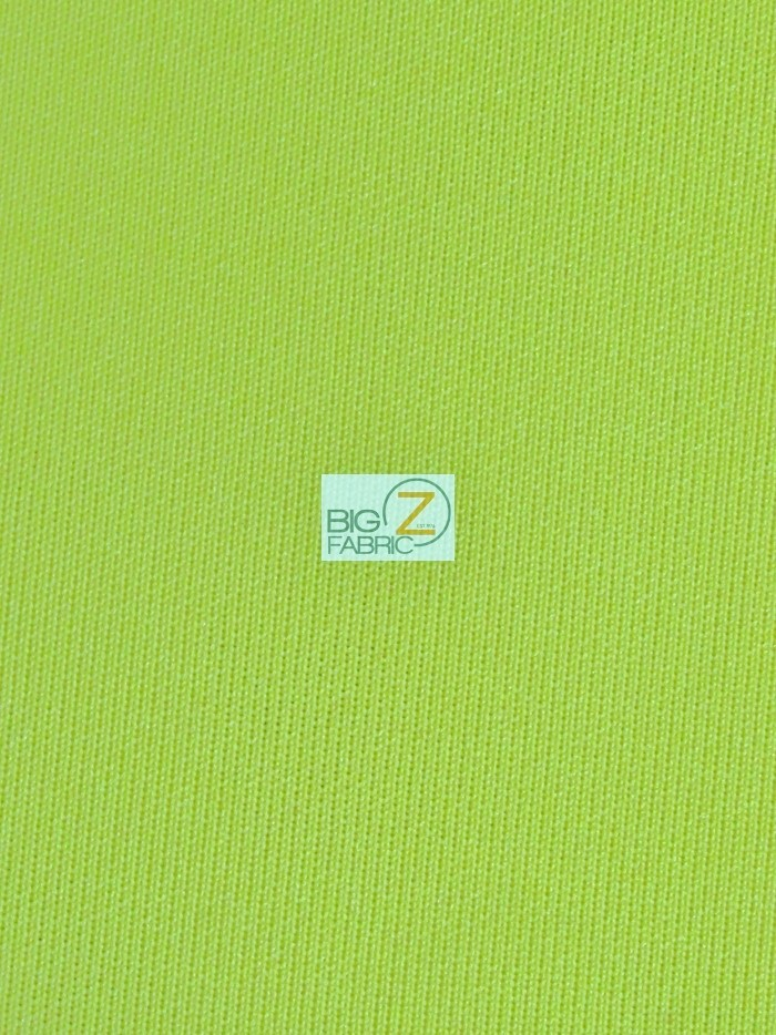 Lime Techno Athletic Double Knit All-Purpose Fabric