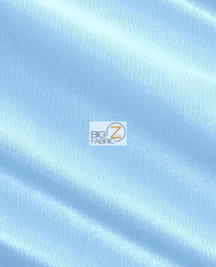 Light Blue Mist Nylon Matrix Spandex Fabric